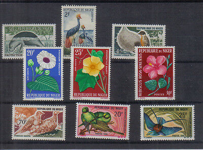 Niger Small unmounted mint Collection