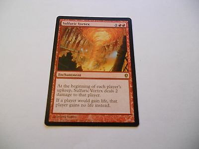 1x MTG Sulfuric Vortex-Vortice Sulfureo Magic EDH CNS Conspiracy ING Inglese x1