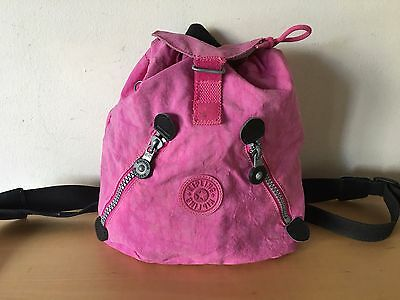 Used - Backpack KIPLING Mochila - Pink color Rosa -  32 x 29 x 12 cm - Usado