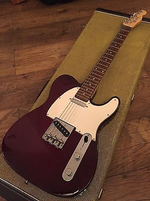 Fender Telecaster Custom with tweed case