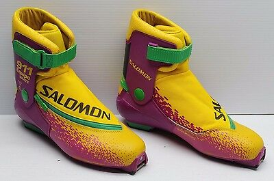 Salomon EQUIP 911 Skate Cross Country Alpine Ski Boots SNS Profil Men's 11