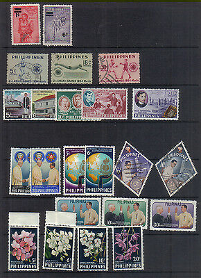 Philippines 1954-62 Eight sets