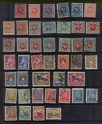 Lithuania 1919-23 Collection