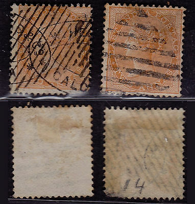 India 1856 - SG # 44 - Used stamps