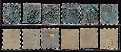 India 1856 - SG # 38 - Used stamps