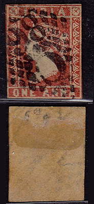 India 1854 - SG # 3 - Used stamp