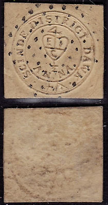 India 1852 - SG # 1 - Used stamp
