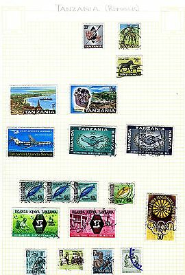 Tanzania 1 page of 20th century stamps (1960's)