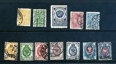 Russia Noytobar Mapka stamps - various used - extra one added 25/01/16