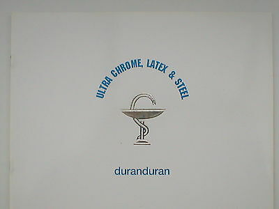 DURAN DURAN ultra chrome latex & steel 1997 tour programme 20 pages