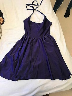 American Apparel - blue skater dress (size M)