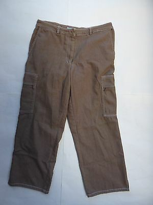 In the Wash ITW Beige Cargo Casual Pants Size 8 Women's Good Condition Moldova