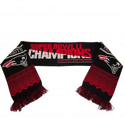 New England Patriots Super Bowl Champions Scarf 2017