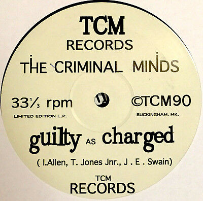 THE CRIMINAL MINDS - Guilty As Charged UK HIP HOP BRITCORE TCM Recordings TCM1