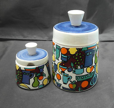 Vintage Two Goebels Kitchen Pots