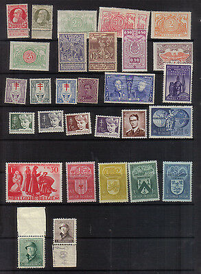 Belgium Interesting early mint collection
