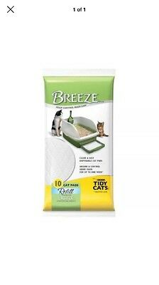 Tidy Cats Breeze Pads - Pack of 10=