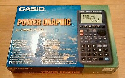 Casio FX-7400G Plus Power Graphic Calculator With Box and Instructions