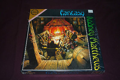 1994 Rodney Matthews 625pc Fantasy Jigsaw Puzzle On a Story Teller's Night NEW