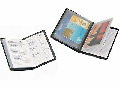 Pocket Address Book with Credit Card Holder - A7