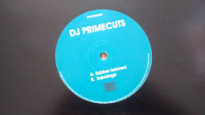 DJ Primecuts ‎– Rubber Banned / Sabotage : Stretched DUBSTEP