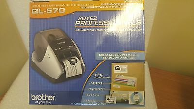 Brother QL-570 Professional Label Printer **UNOPENED BOX**