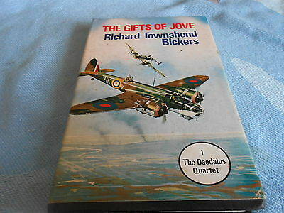 Vintage War Fiction - THE GIFTS OF JOVE - Richard Townsend Bickers - Hardback