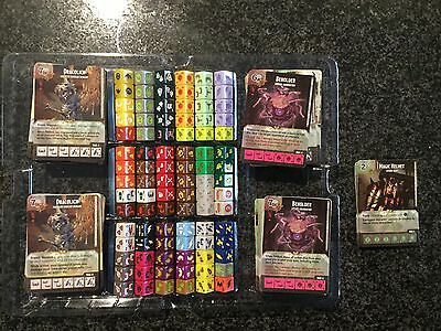 Dungeon & Dragon Dice Masters Collection (Not Complete)
