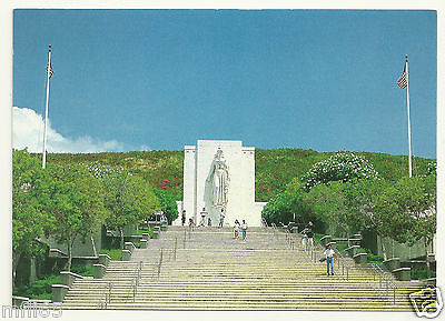 Postcard - Nat Mem Cemetery of the Pacific - Gardens of the Missing - Unposted