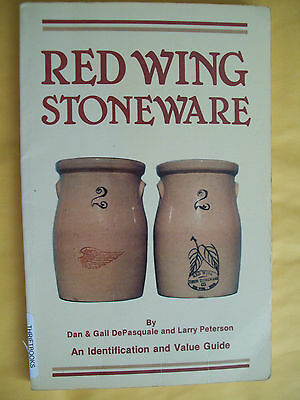RED WING Stoneware Price Guide COLLECTORS BOOK Crocks JUGS Jars Bowls Pitcher +
