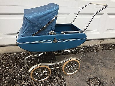 Antique Metal Baby Carriage