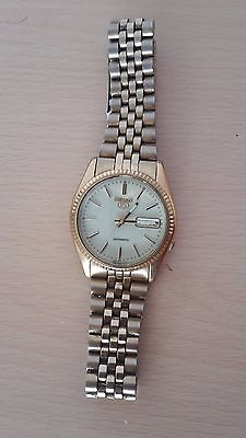 Seiko 5 Gold Plated Vintage Automatic Watch