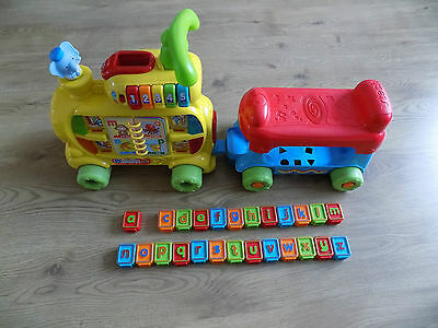 Vtech Push and Ride Alphabet Train baby toddler walker toy educational (c)