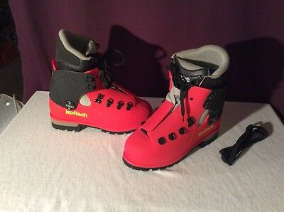 KOFLACH PLASTIC MOUNTAINEERING BOOTS New Shells W/ Gently Used Liners Size US 6