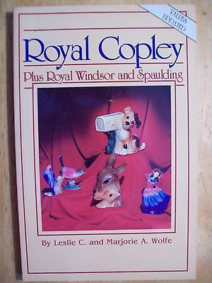 ROYAL COPLEY PRICE GUIDE COLLECTOR BOOK Planter's Vases Animals Birds Pitchers +