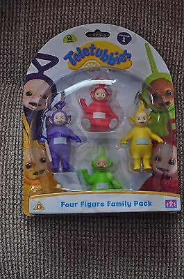 Teletubbies 4 Figure Family Pack Collection 1 (NIB)