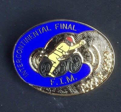 Speedway badge Poole Intercontinental final 1999