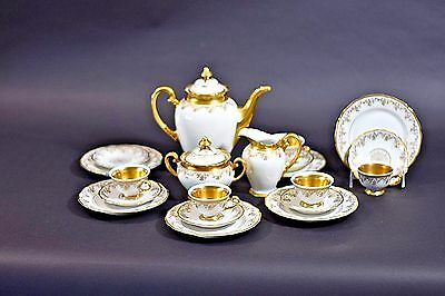 Hutschenreuther Demitasse Coffee Service 21-Piece Set Mint Condition