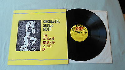 """Orchestre Super Moth 12""""ep The World At Sixes And Sevens Ian A. Anderson 1989"""