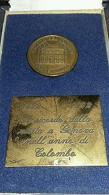 Genoa 500 Years Boxed Coin