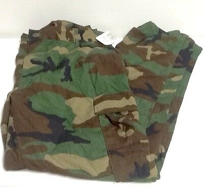 Us Army Issue Woodland Bdu Trousers Large Regular Nwt Army Pants
