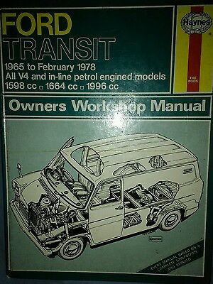 Vintage/classic Haynes Manual - Ford Transit Petrol 1965-78 (Hard Back)