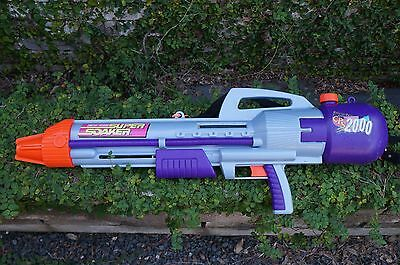 Larami Vintage Super Soaker CPS 2000  Water Gun. tested