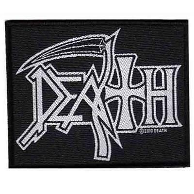 Official Licensed - Death - Logo Sew On Patch Death Metal