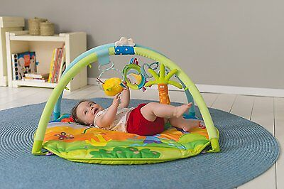 Baby Gym Play Mat Taf Toys Tummy Time Clip-On Infant Toys Suitable From Birth