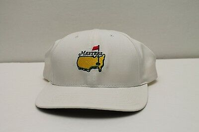 Masters Augusta Golf Hat - White American Needle - Leather Adjustable Strap