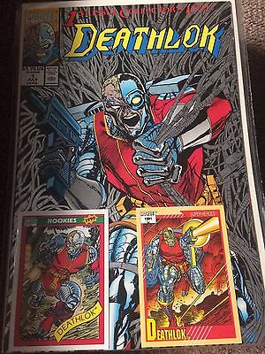 Deathlok (Marvel, 1991) Lot - Complete Run w/Issue #s 1-25, Avengers