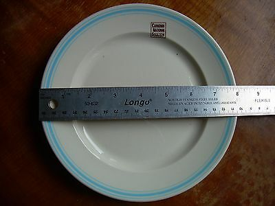CNR Canadian National Railroad System 8 inch dining car plate no chips or cracks