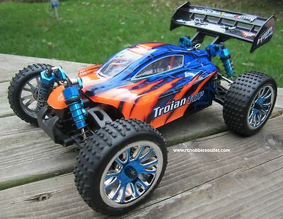 RC Brushless Electric Buggy / Car 1/16 Scale LIPO TOP 4WD RTR  18505