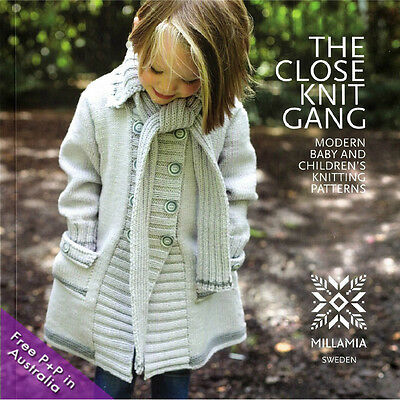 NEW The Close Knit Gang by Millamia : Modern Baby and Children's Patterns